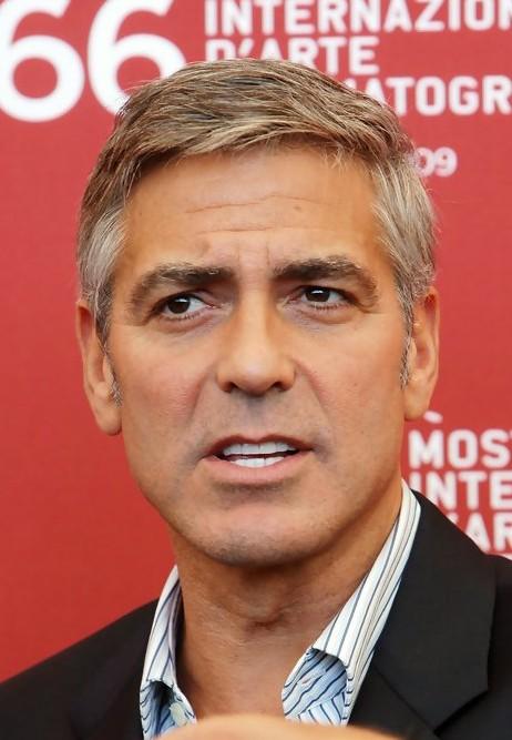 George Clooney Short Haircut for Men