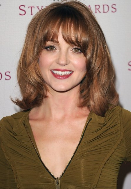 Jayma Mays Hairstyle with Bangs