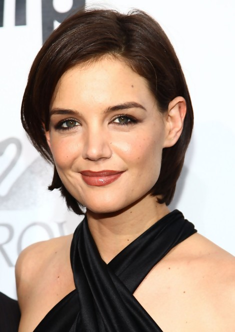 Katie Holmes Short Bob Hairstyle Chic Short Cut For Women