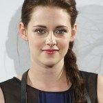Kristen Stewart Cute Long Side Braided Hairstyle