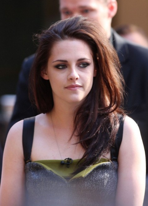 Kristen Stewart Layered Long Ombre Hair Style Hairstyles