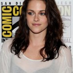 Kristen Stewart Shoulder Length Wavy Hairstyle