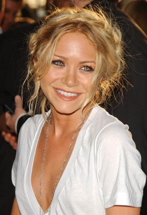 Mary Kate Olsen Milkmaid Braid