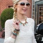 Paris Hilton Cute Braided Hair Styles