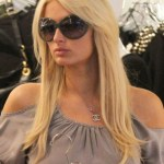 Paris Hilton Layered Long Hairstyles