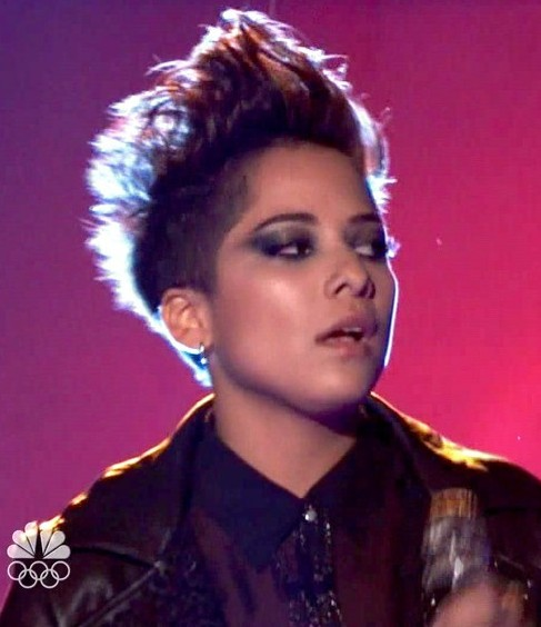 Vicci Martinez Fauxhawk Hairstyle for women