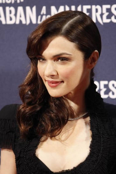 Rachel Weisz Retro Hairstyle