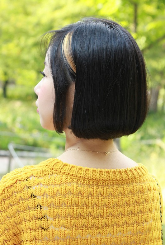 Back View Of Classic A Line Bob Hairstyles Weekly