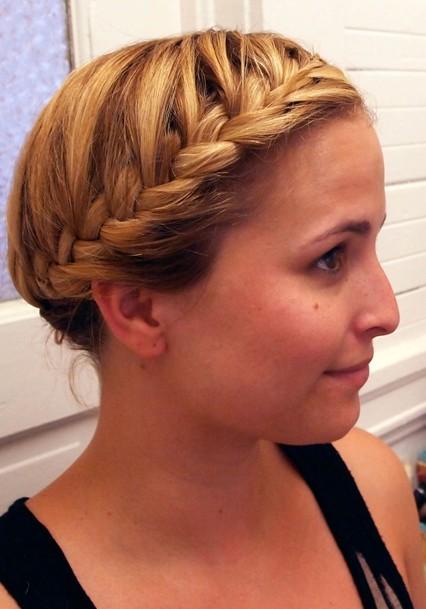 Cute French Braid Hairstyle