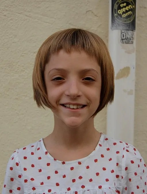 Cute Girls Short Bob Haircut