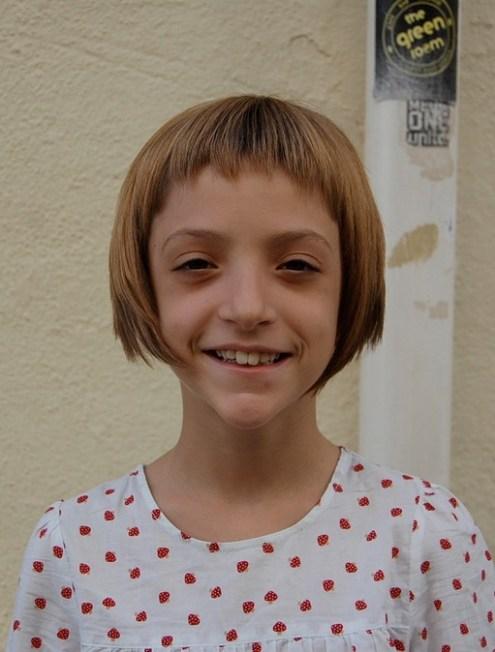 Cute Girls Short Bob Haircut