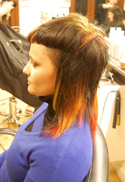 Hairstyle Designs Stylish Mid Legnth Haircut