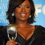 Jennifer Hudson Short Layered Hairstyle for Black Women
