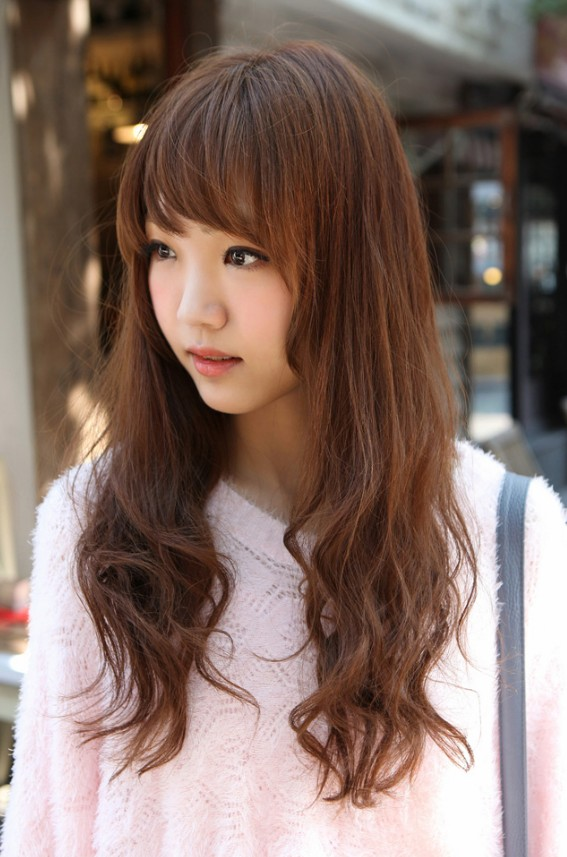 Korean Girls Long Hairstyle