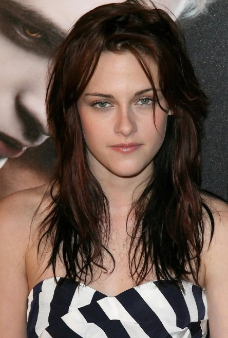 Kristen Stewart Messy Long Wavy Hairstyle Hairstyles Weekly