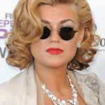 Melody Gardot Short Curly Bob Hairstyle