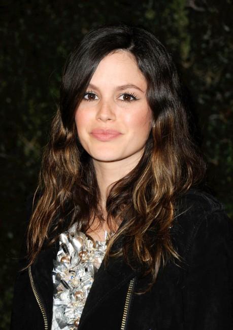 Rachel Bilson Long Wavy Highlighted Hairstyle Hairstyles