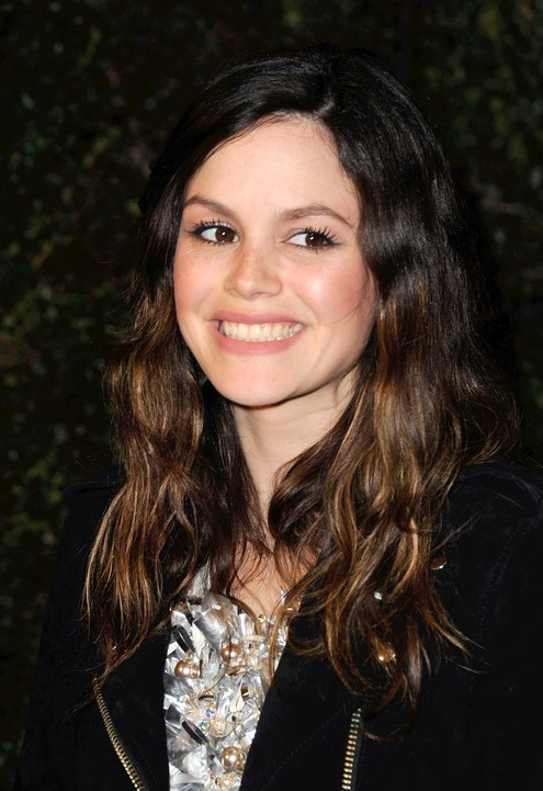Rachel Bilson Long Wavy Ombre Hair