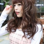 Sweet Asian Long Hairstyles 2013