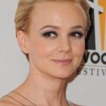 Carey Mulligan Formal Comb Back Pixie Cut 2013 - 2014