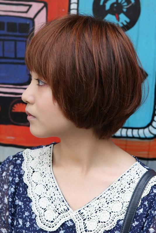Cute Korean Bob Hairstyle Perfect Summer Hairstyle
