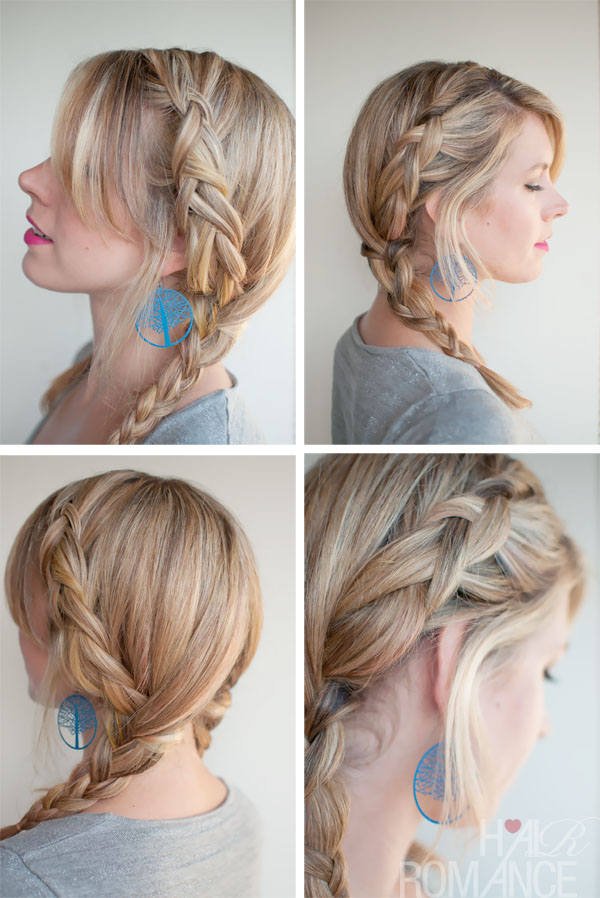 Pretty Dutch Braided Pigtails for Weekend Holidays