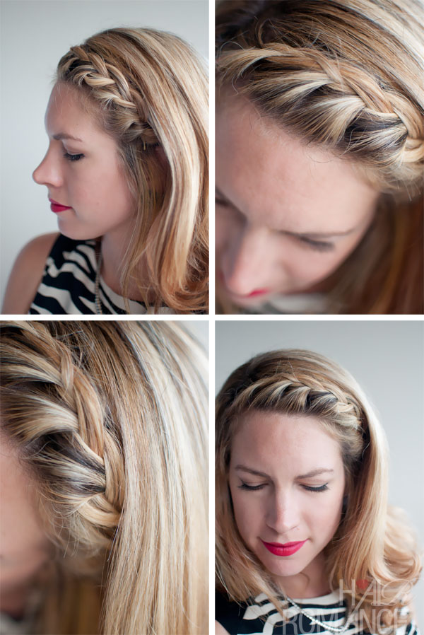 Hair Inspirations: French Braided Fringe Bangs - Most Popular Casual Hairstyles