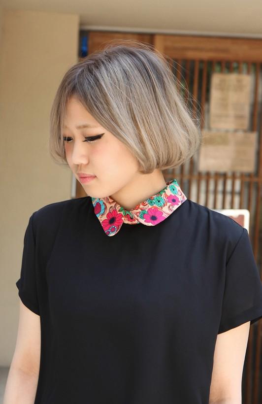 Japanese Girls Bob Hairstyle 2013