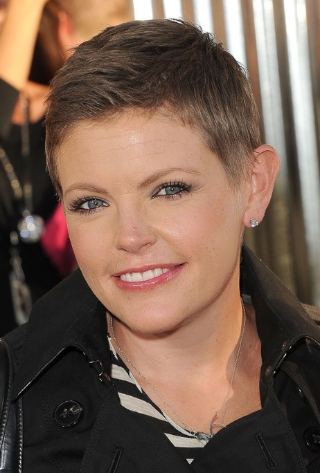 Natalie Maines Very Short Haircut Pixie