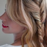 Romantic French Fishtail Side Braid Hairstyle for Women