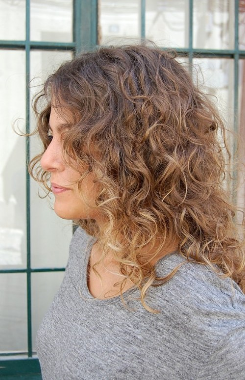 Romantic Long Curly Ombre Hair 2013