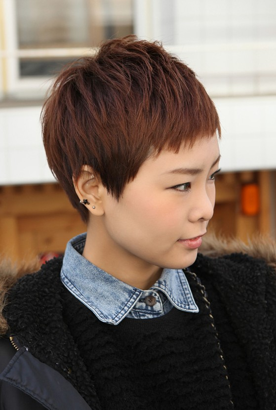 Sharp Amp Sexy Rihanna Pixie Cut Boyish Asian Haircut