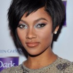 Bria Murphy Short Black Pixie Cut for Prom