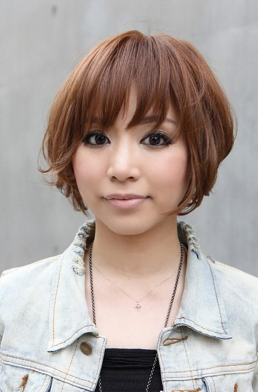 Cool Short Japanese Women Hairstyles 2013