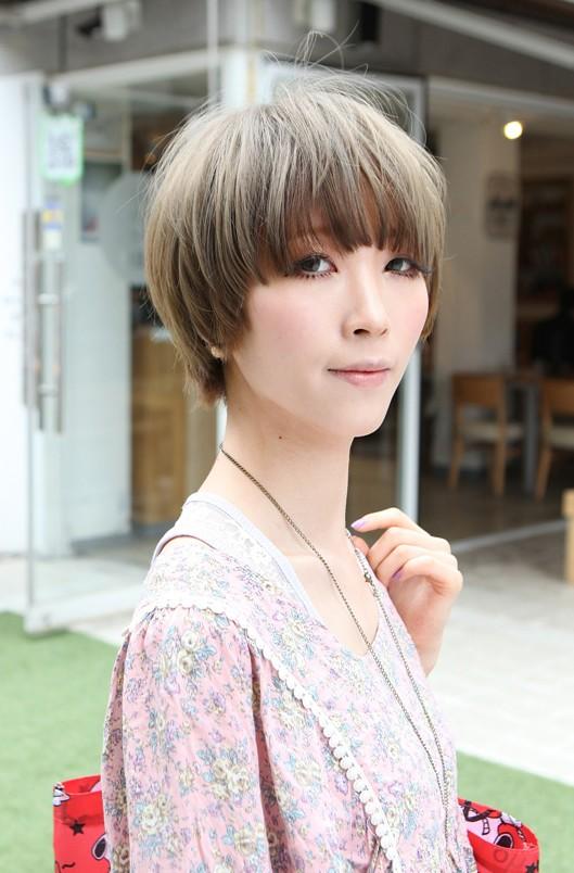 Modern Short Haircut 2014