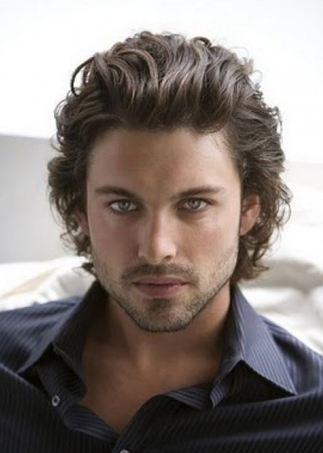 Sexy long hairstyles for men 2013