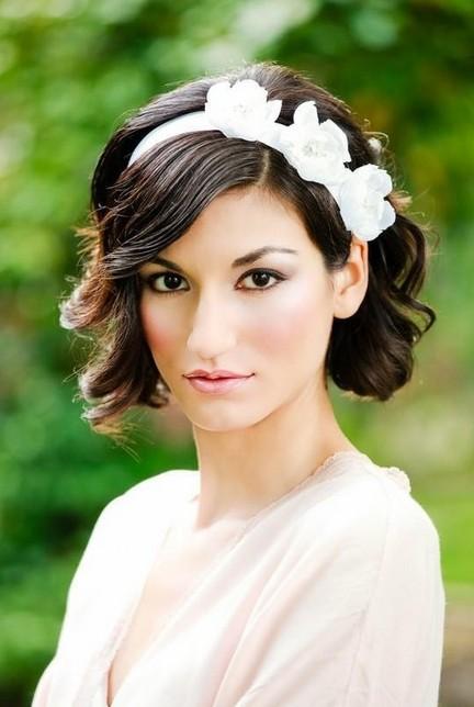 Wedding Hair Styles for Short Hair