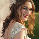 Anne Hathaway Hairstyles - Romantic Wavy Wedding Hairstyles