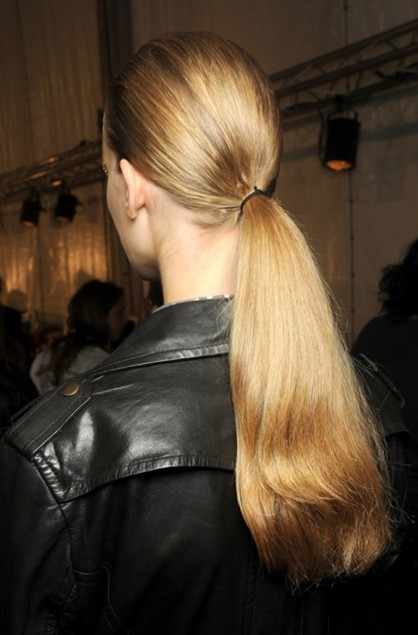 Low ponytail for summer 2013 2014