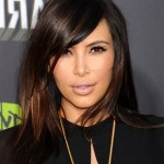 Kim Kardashian hairstyle -medium length hairstyle