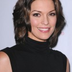 Medium length hairstyles Alana De La Garza hairstyles