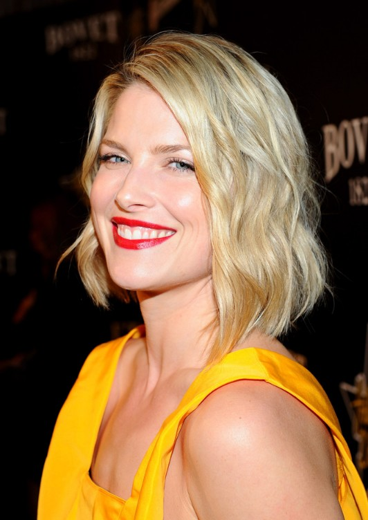 Bright Blonde Medium With Twists For Summer Ali Larter