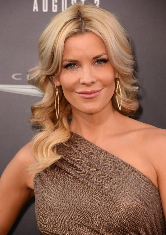 Formal Long Blonde Wavy Hairstyle For Women McKenzie