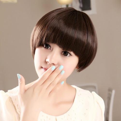 Polished Short Sleek Bob Hairstyle