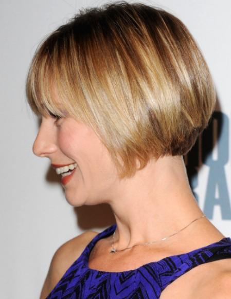 Meredith Monroe short bob cut