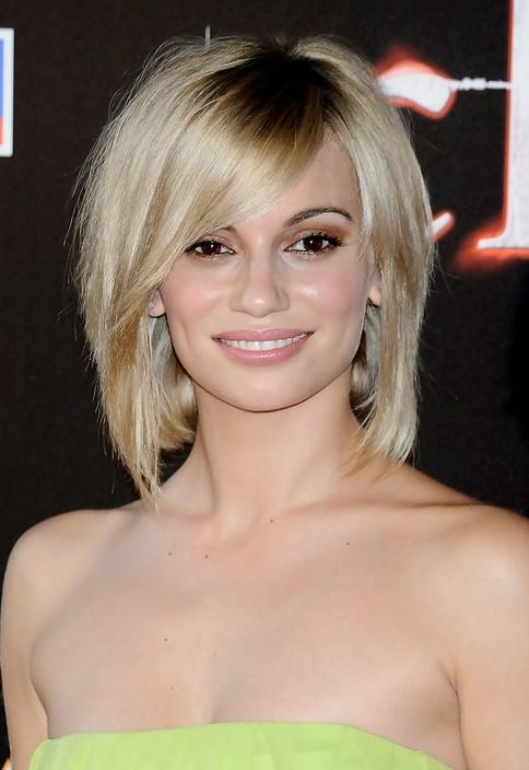 Short Blonde Bob Haircut with Bangs for Thick Hair - Norma Ruiz Hairstyles
