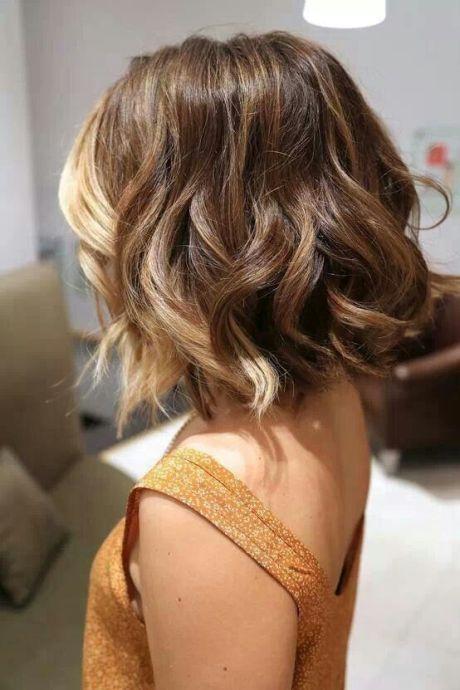 2015 Pretty Short Ombre Hair for Asian Girls