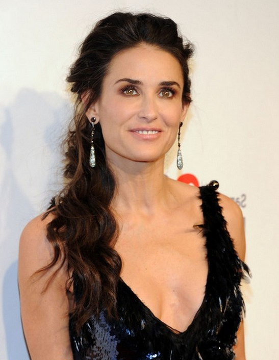 Quick Amp Easy Soft Loose Everyday Curls Demi Moore Hair