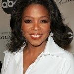 Oprah Winfrey medium hairstyle for women over 50