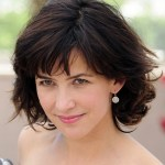 Sophie Marceau Hairstyle - 2014 Layered Short Hairstyle for Women Over 40